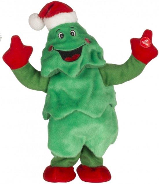 Kerst Figuren Dansend Met Geluid